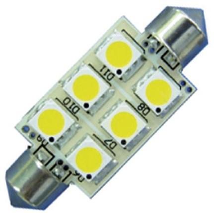 Buis 37mm 10-35VDC 1.2W/10W WW