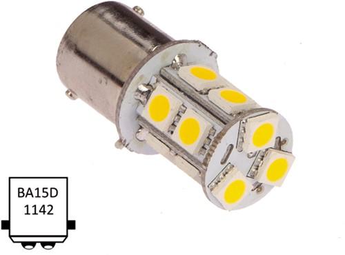 Ba15D dubbel 10-30VDC 2.0W/20W WW