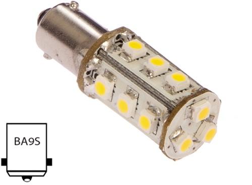 Ba9S-MT15-WW  1.2W/10W koel wit