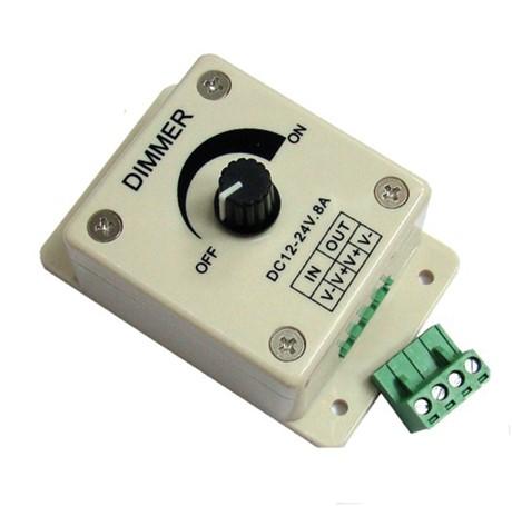 PWM-12/24V-8A-pot LED dimmer