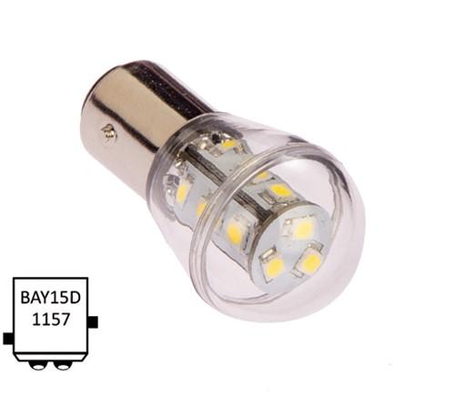 BaY15D 10-30VDC 1.2/10W wit