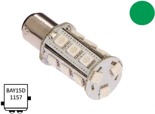 BaY15D 10-30VDC 3.6/25W groen
