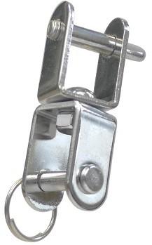 Plaatwartel L55 x B14 x ›6 mm./A2-304