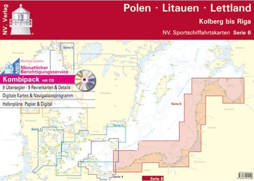 Deense NV. Atlas Serie 6 Polen