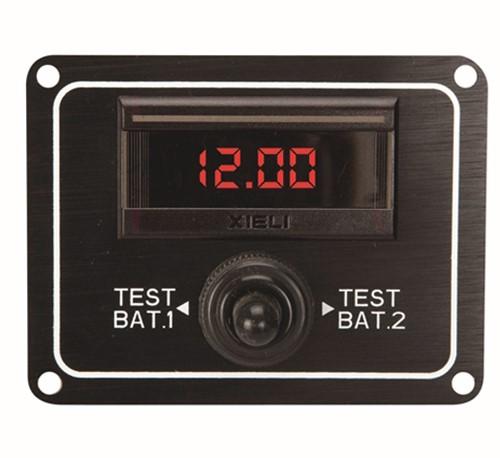 AAA Digitale voltmeter 2 accu's
