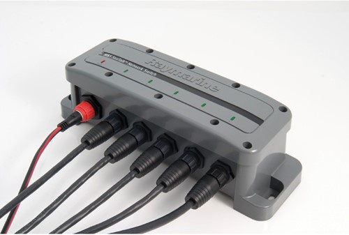 Raymarine HS5-SeaTalkHS  Netwerk Switch - 10 Mbit/s, 100 Mbit/s, 1000 Mbit/s