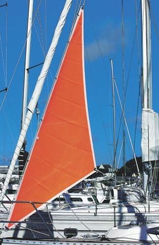 Stormfok Oranje 4m2 tot 26ft