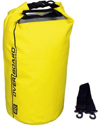Overboard Dry tube 20 ltr geel