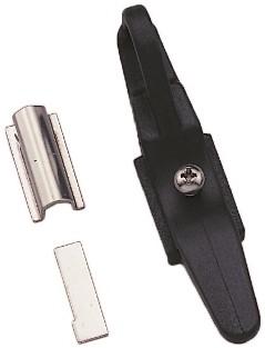Stagkikker aluminium/zwart