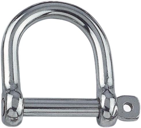 D-sluiting breed 5 x 25 x 20 mm, 750 kg A4/316