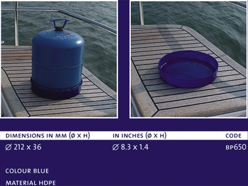 BP Gas cylinder tray