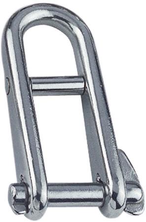 Sleutelsluiting met brug 5 x 13 x 40 mm, 954 kg A4/316
