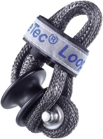 Loop shackle 5mm met kous 24mm