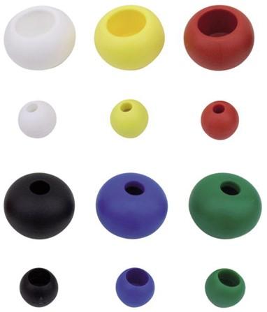 Kraal 17/5mm div. kleuren 6 st