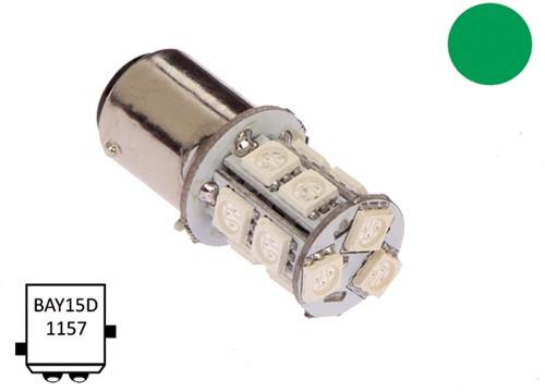 BaY15D 10-30VDC 2.2/20W groen