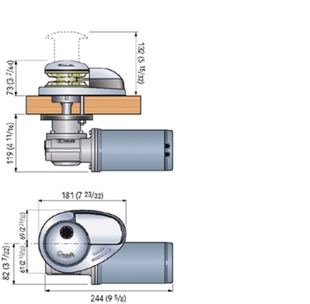 Quick Prince DP1 300W/12V/6mm ankerlier