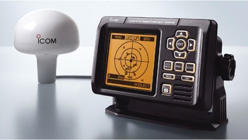 Icom AIS Class B + GPS antenne