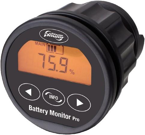 WhisperPower Batterijmonitor 9-35V