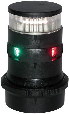 AS34 Driekleur/Ankerlicht zwart Led