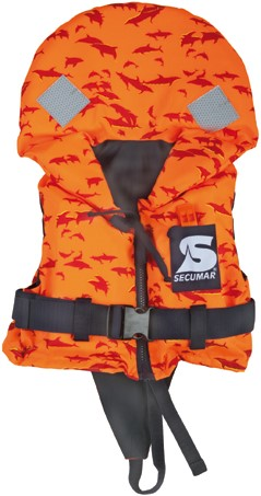 Secumar Bravo Print - oranje - 5/10 Kg - kruisband/broekje