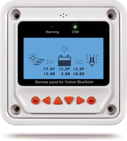 Remote display Blue Solar PWM Pro