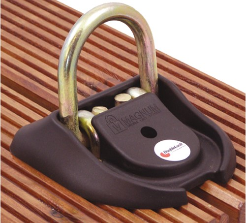 Doublelock Dock lock (grondanker)