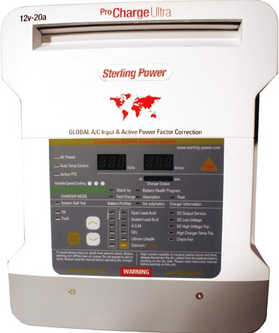Sterling Procharge acculader 12/10