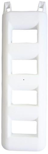 Majoni  trapfender - 4 treden - Wit