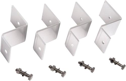 Aluminium montageset zonnepaneel