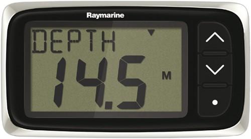 Raymarine i40 Diepte Display - STNG aanl. - rode verlichting- diepte alarm