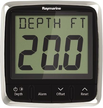 Raymarine i50 Diepte Display / min. max. diepte - alarm signaal