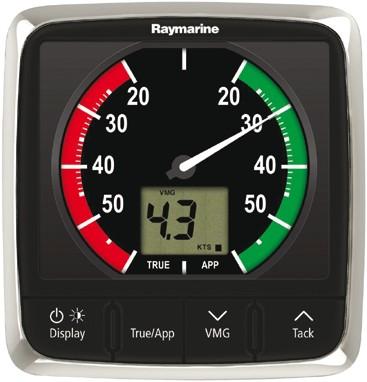 Raymarine i60 Wind Close Hauled display