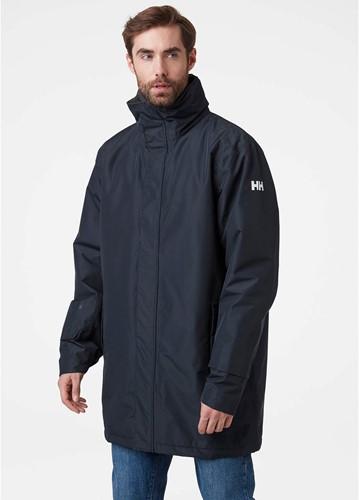 Helly Hansen Dubliner Insulated Long Jacket Navy