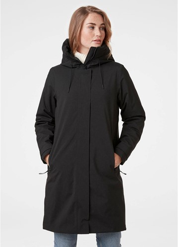 Helly Hansen W Victoria Insulated Rain Coat Black