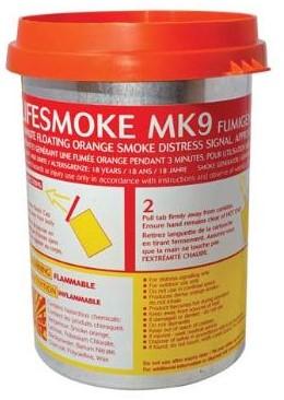 Pains & Wessex MK9 Rooksignaal Oranje Drijvend
