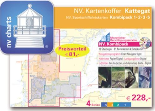 Deense NV. Atlas Serie 1,2,3 en 5 K