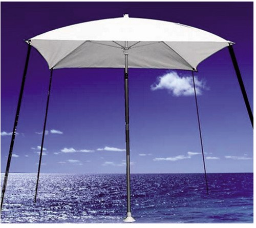 Bimini parasol wit 200x200 cm.