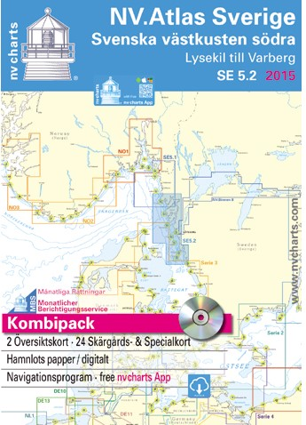 Zweedse Atlas Westkust Zuid