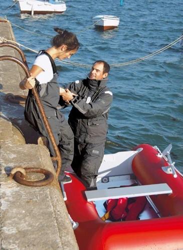 XM Offshore broek grijs