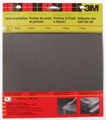 Schuurpapier WP 23x28 P800