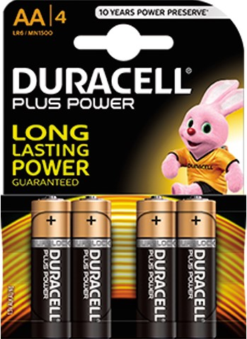 Duracell batterij penlight 4st AA