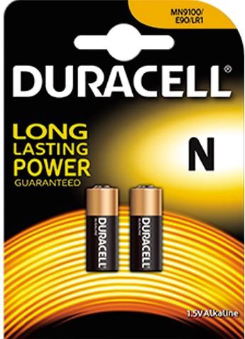 Duracell batterij klok 2st. N