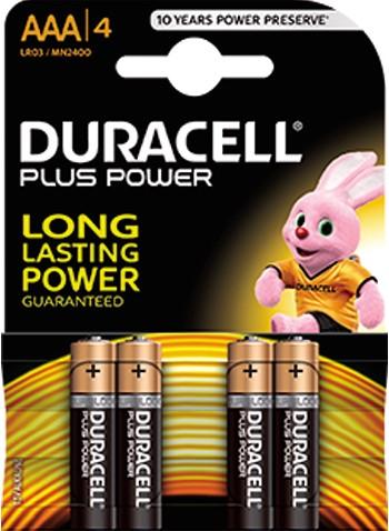 Duracell batterij potlood 4st. AAA