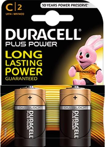 Duracell batterij Engels 2st. C
