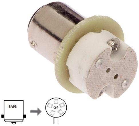 Adaptor Ba9S to G4