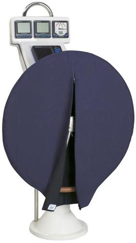 Stuurwielhoes 830 mm blauw