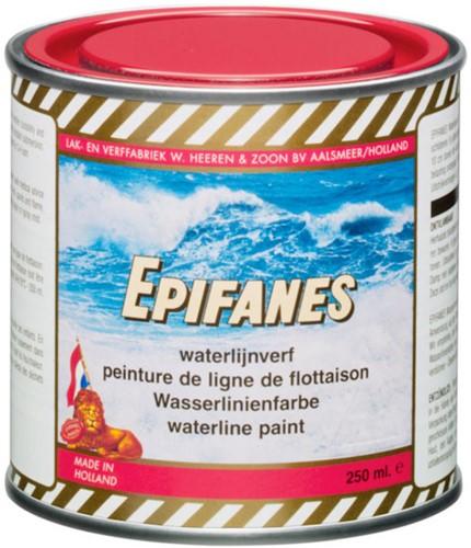 Epifanes waterlijnverf zwart 250ml
