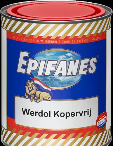 Epifanes Werdol Kopervrij Zwart 0.75 Liter
