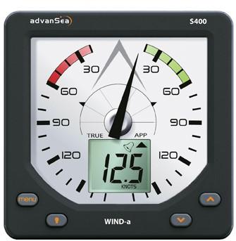 AdvanSea S400 Wind set met analoog display