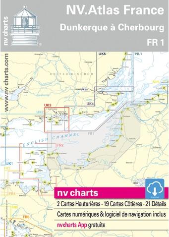 NV Atlas FR1 Frankrijk Noord Franse kust